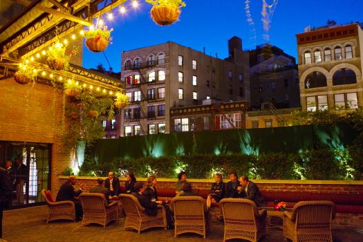 Bowery Hotel Wedding Bowery Hotel Terrace