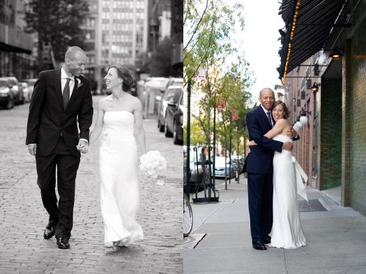 Bowery Hotel Wedding Wedding photos outdoors