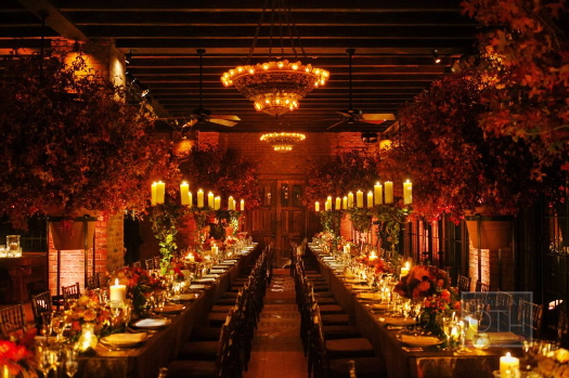 Fall design by LMD Designs at Bowery Hotel photographed by Christian Oth Studios. Day of Planner Just About Married NY