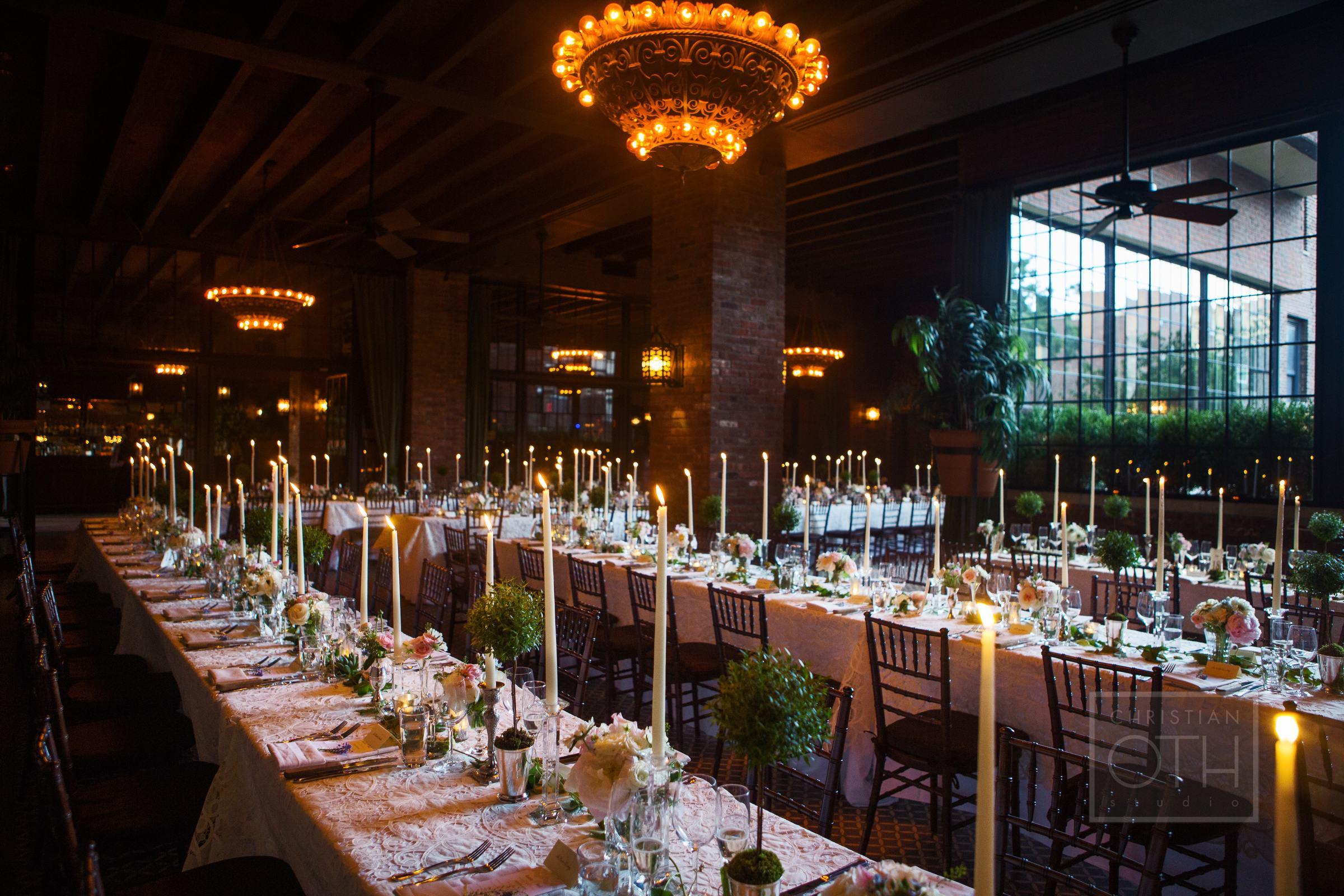 Bowery Hotel Wedding Reception photo by Christian Oth