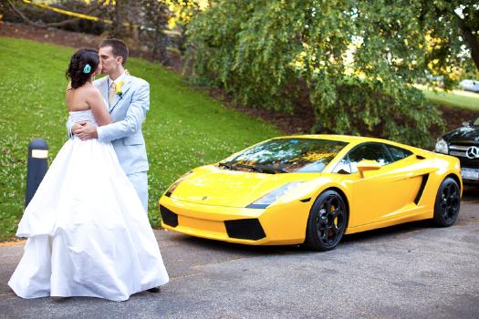 Exotic Car for Wedding Getaway!