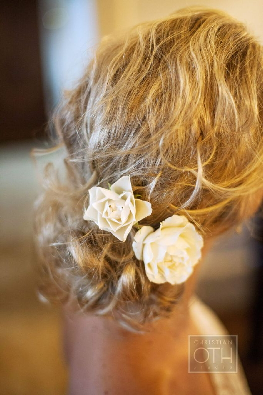 Floral details! Photo by Christian Oth Studios/ Day of Coordination by Just About Married