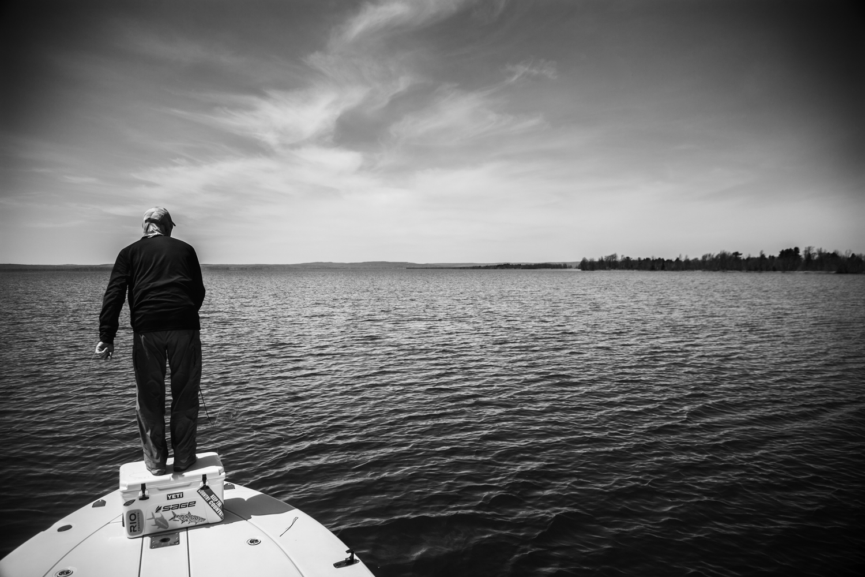 Florida Keys? No, just another day fly fishing Lake Superior smallmouth.