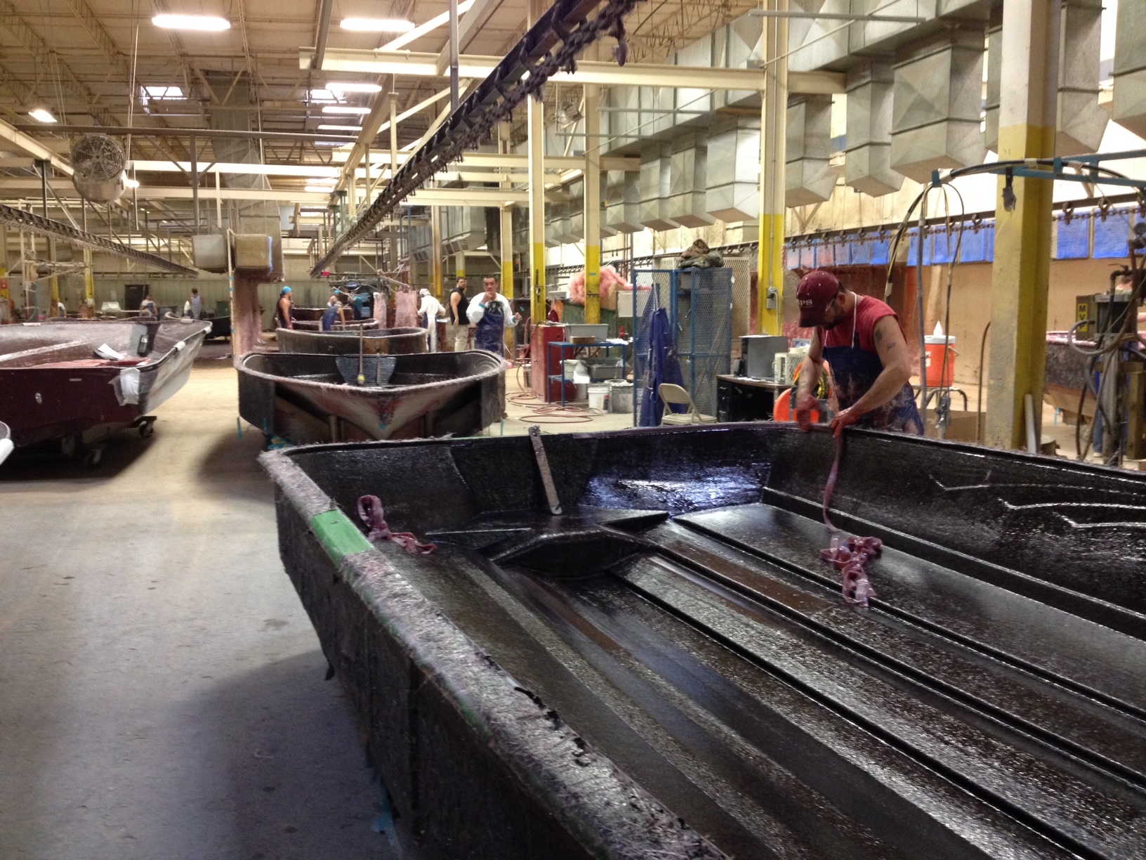 Lots of hard work goes into each boat! Pretty neat to see how a Ranger is built from start to finish.