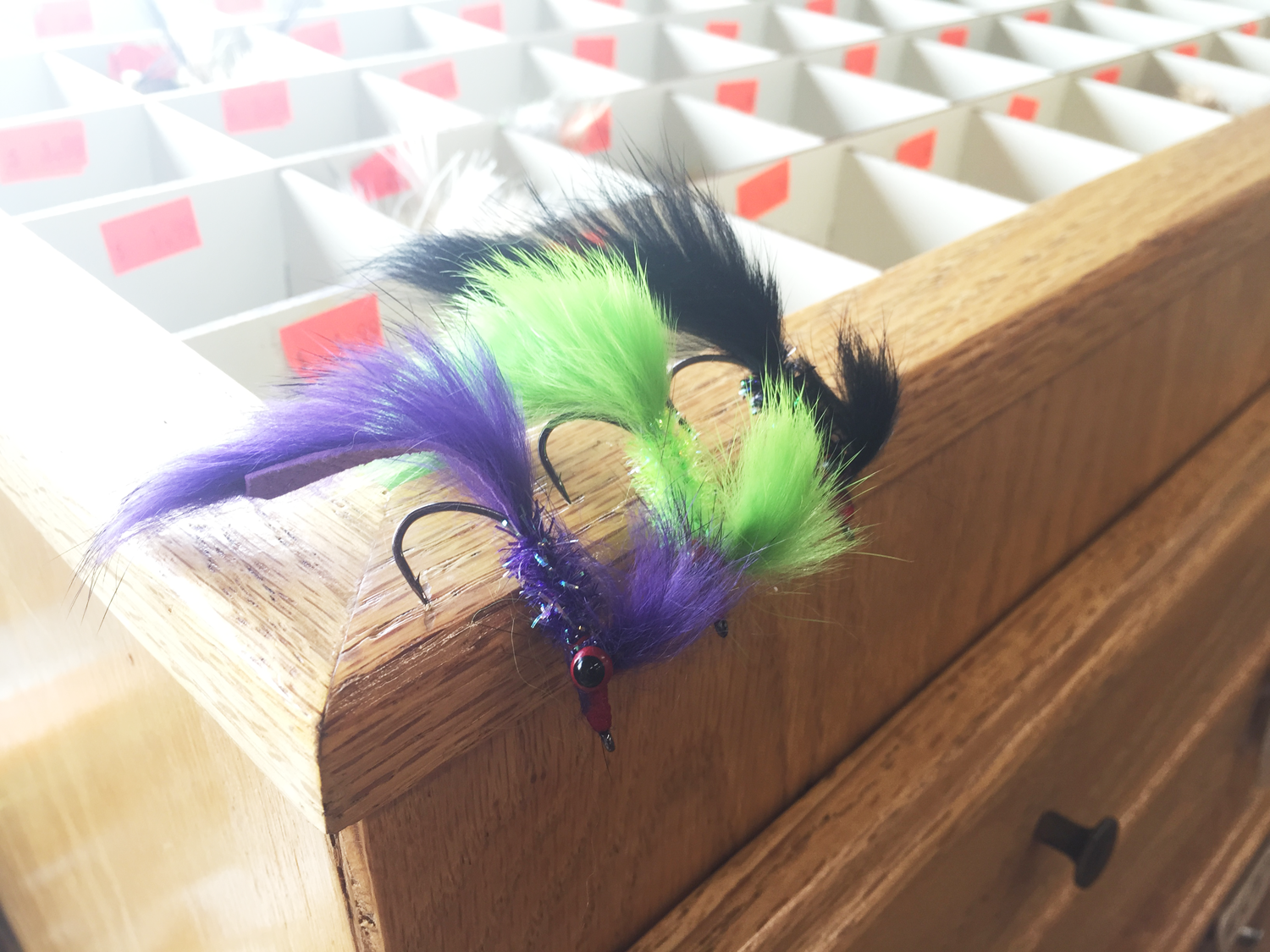 We've got Bay Bugs back in stock at the shop. A great all around bass fly for the waters of Lake Superior as well as the areas inland lakes and rivers.