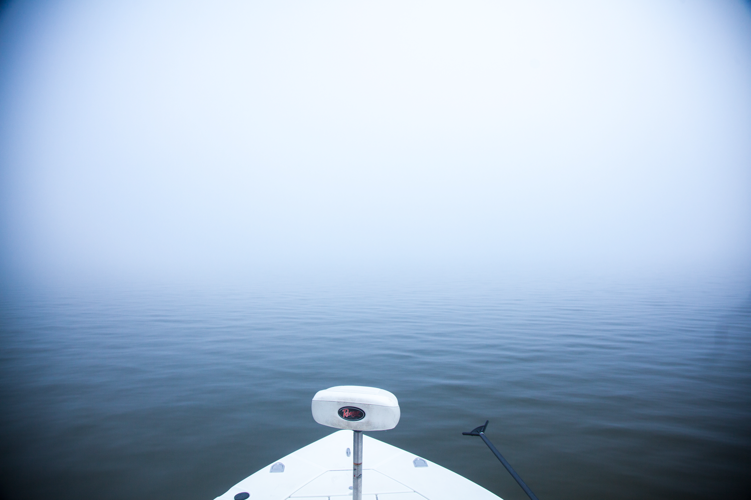 Foggy! I love these kind of mornings on the Bay. Better know where you're going though!