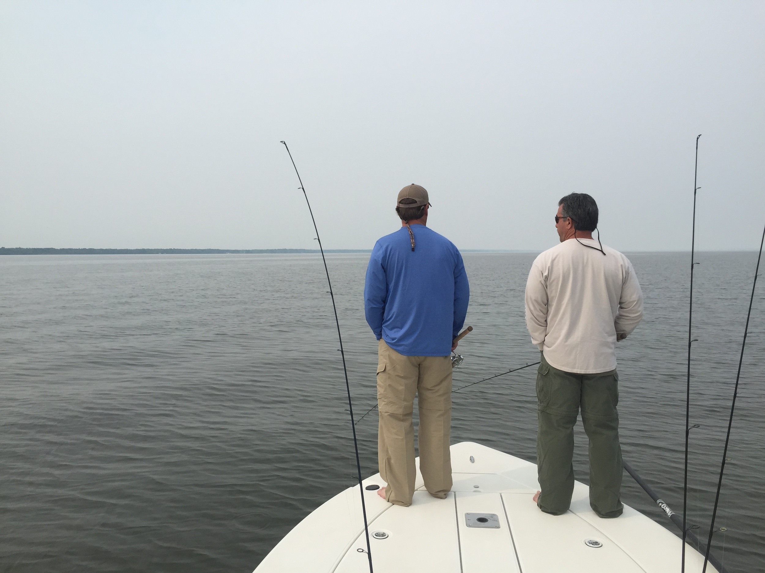 Great conditions on the big lake made for some epic fishing the past few days.