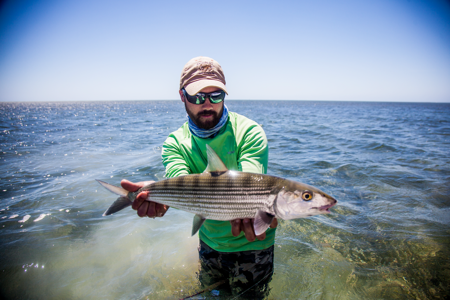 The Florida Keys are known for big Bonefish and we found them.