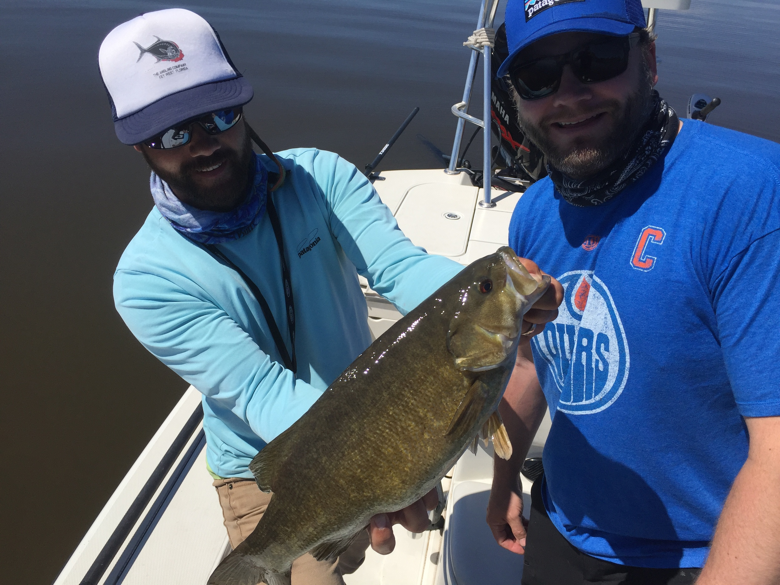 Dutch from the Twin Cities had an epic day on the Bay with perfect weather and grabby fish all day.