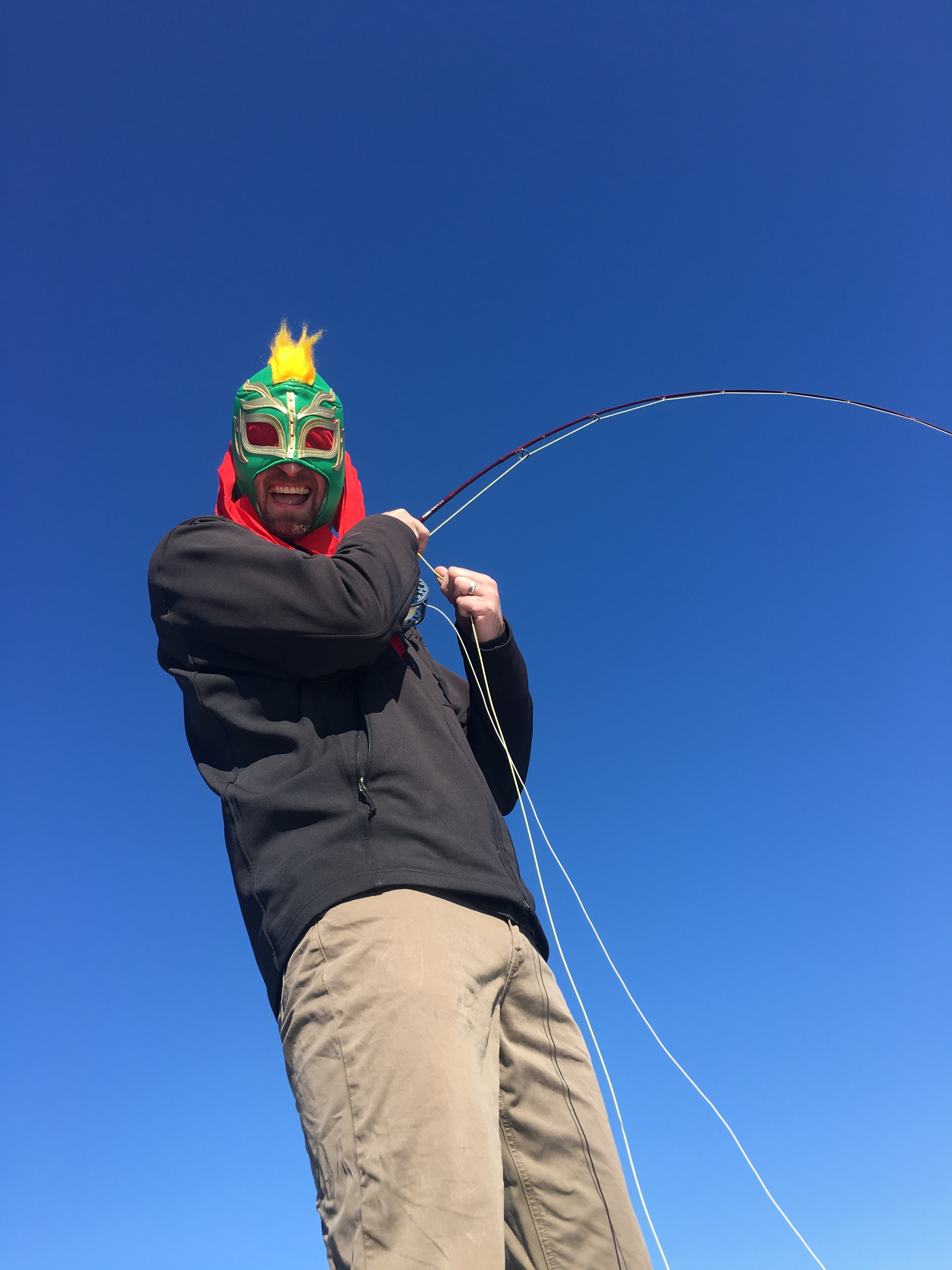 When the fishing is good, things can get a little weird.