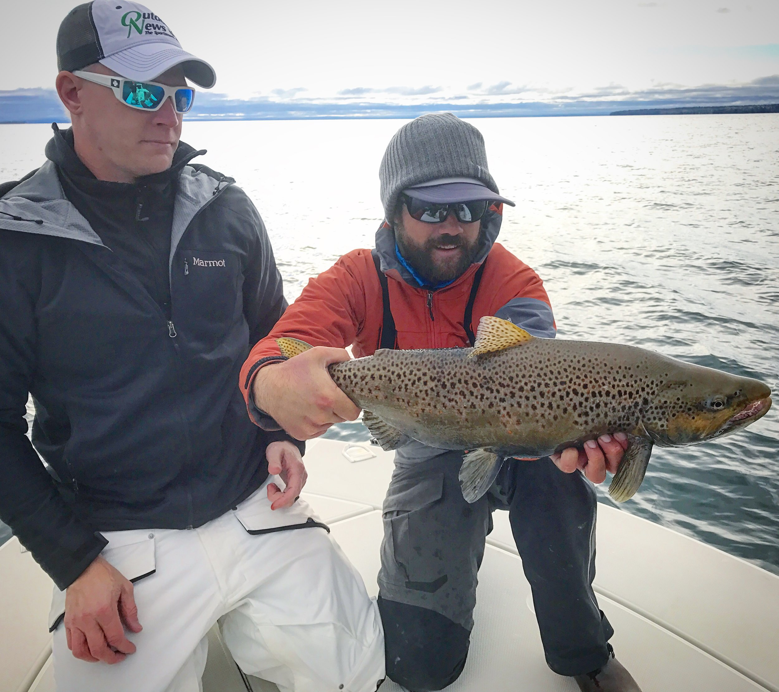 So many things to do in the fall. Catching big Browns and Smallmouth is one.