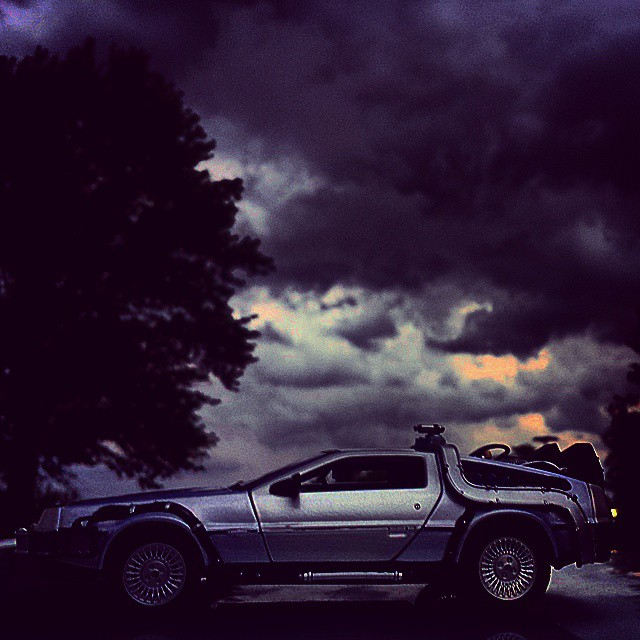 delorean sky