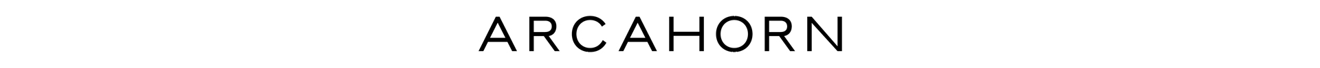 ARCAHORN_Logo_Indoor_Möbel_&_Accessoires