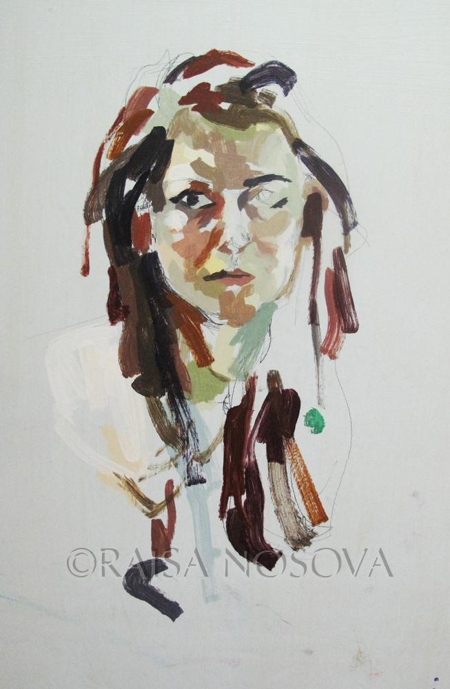 Self Portrait in Brussels