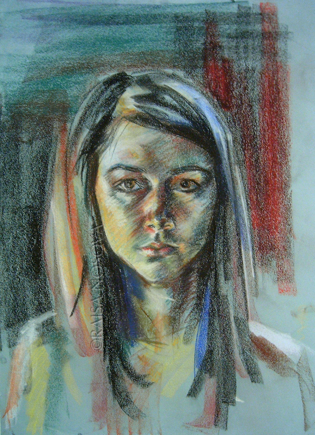 Self Portrait at 18