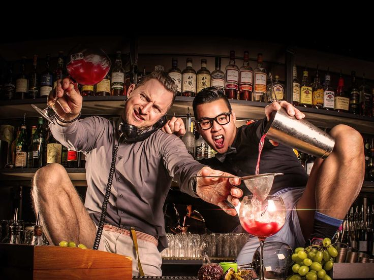 The great founders and energetic talented bartenders