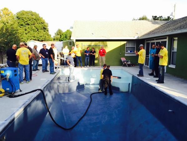San Juan Fiberglass Pool Renewal