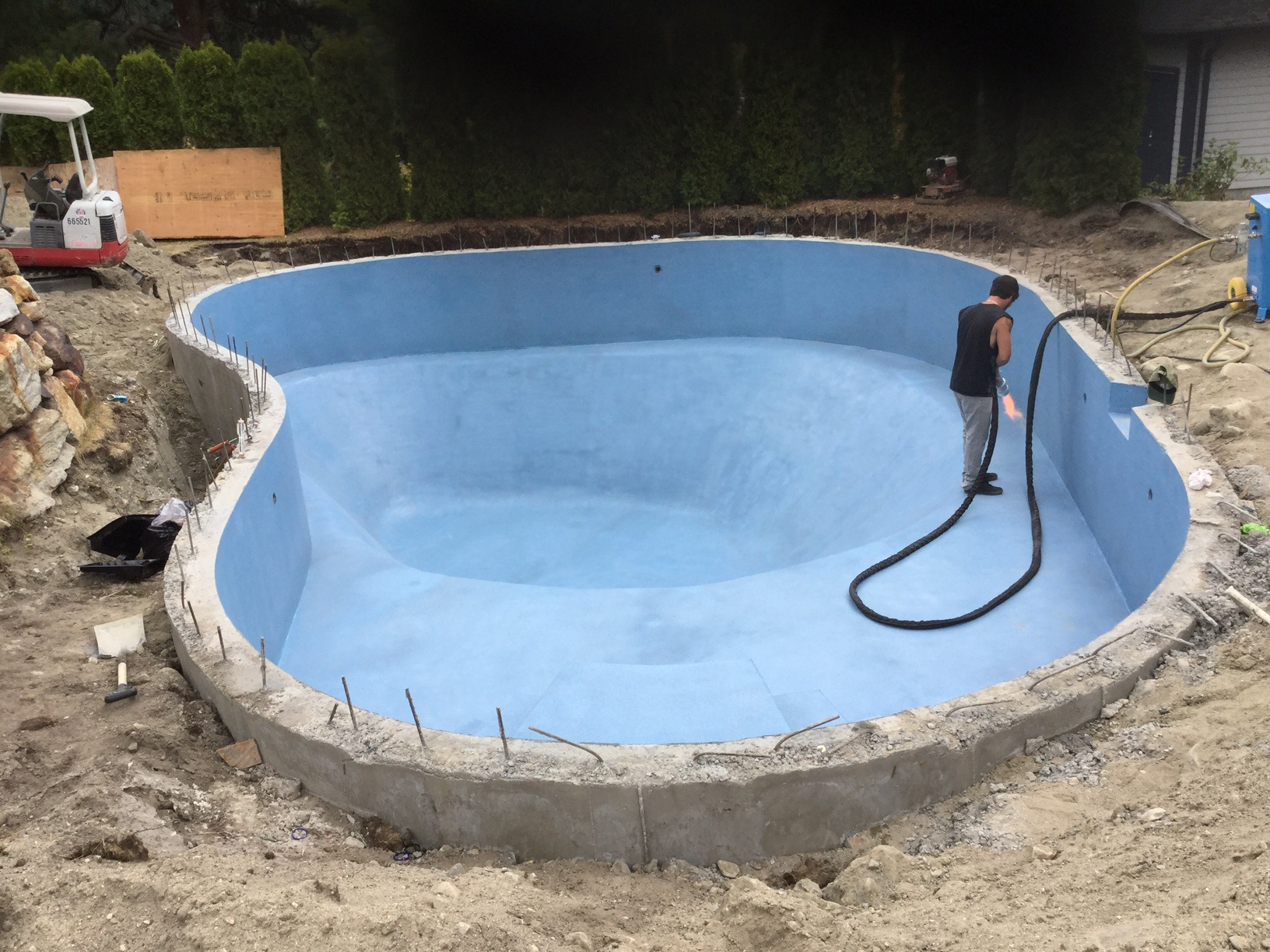 This pool is wearing Ice Ice Bay Bay by ecoFinish