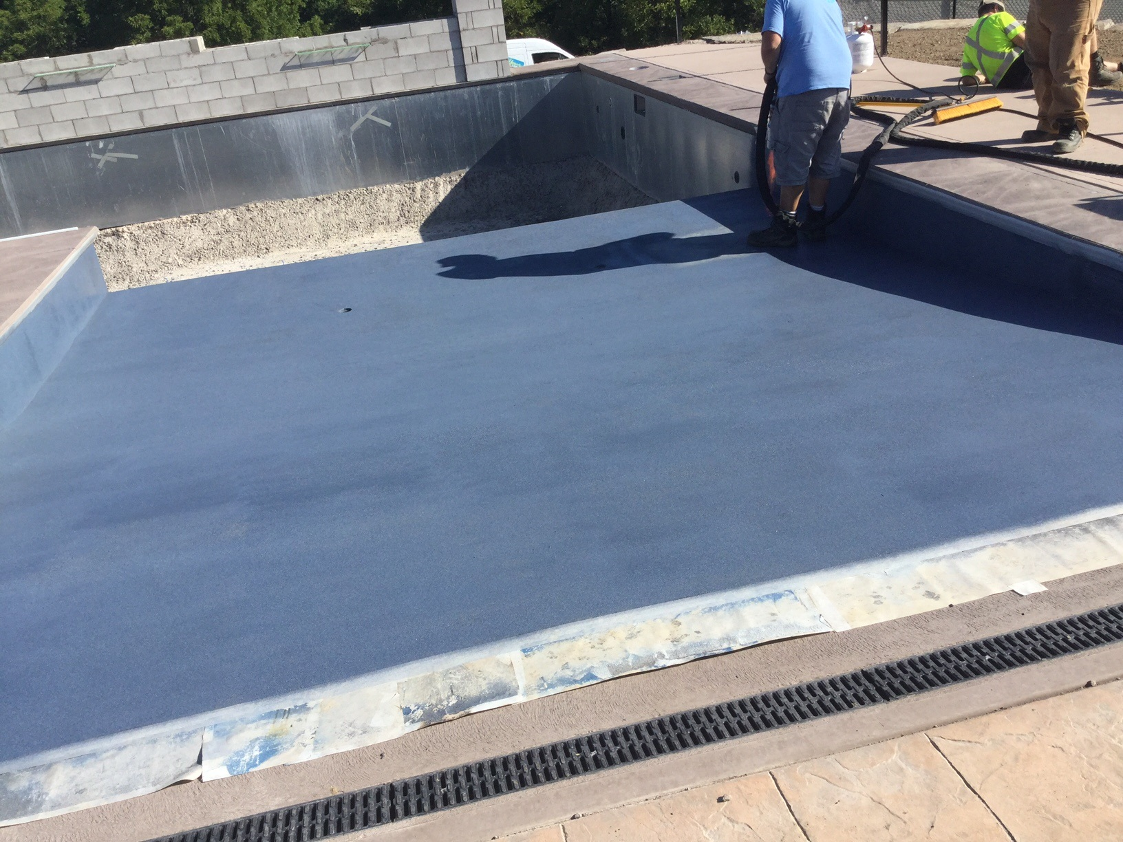 Pioneer Pools Beach Entry ecoFinish Installation