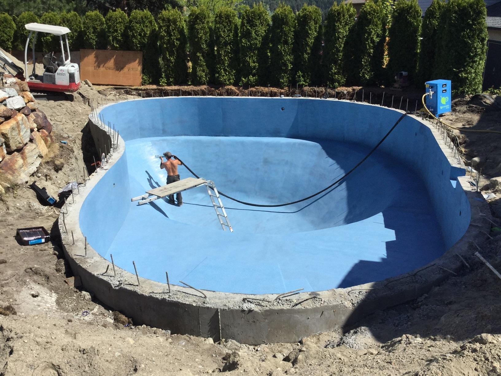 Flock Coat Application R & R Concrete Finishing Ltd Bc