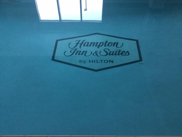 hampton inn water in.JPG