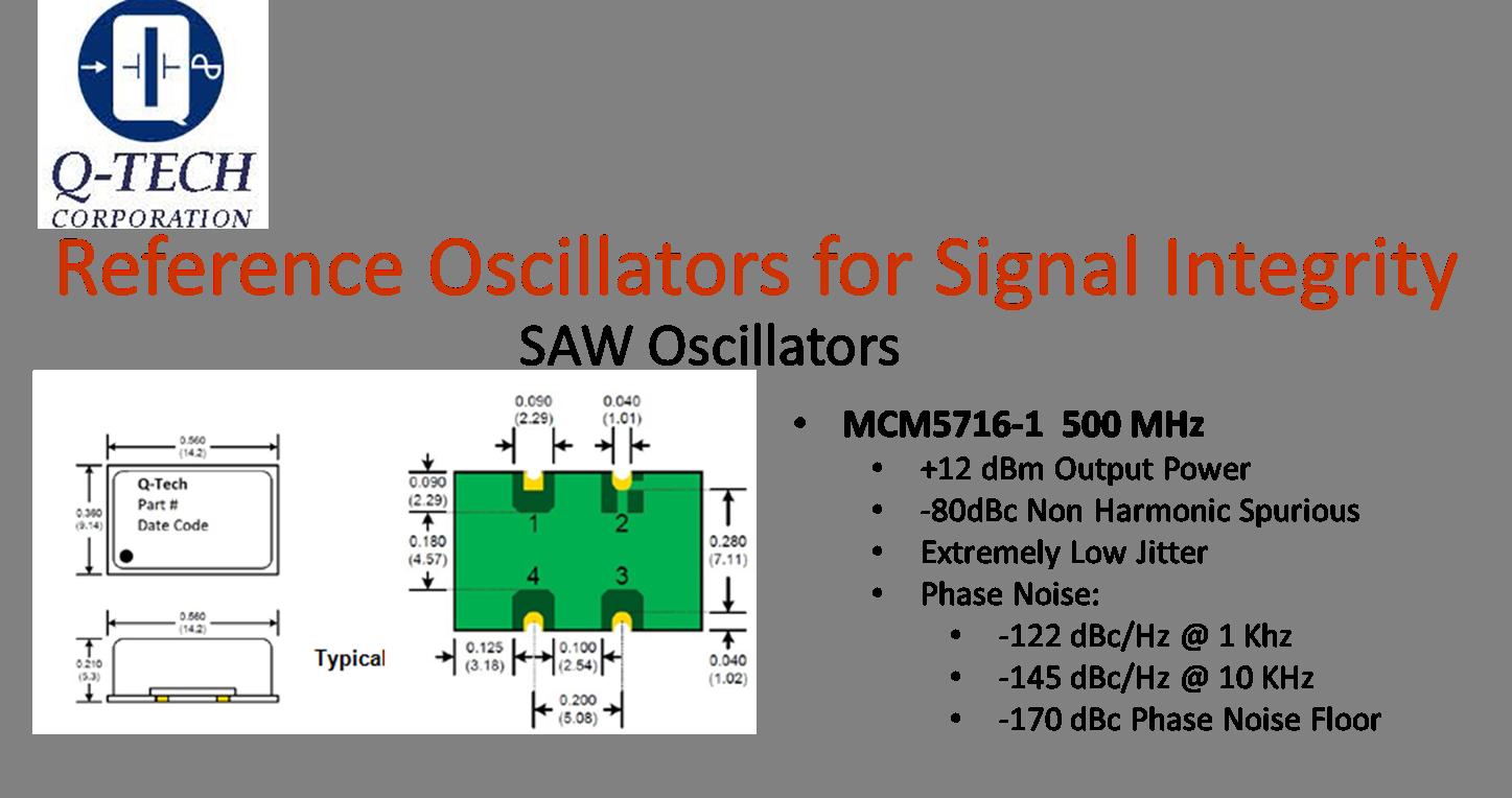 SAW Reference Oscillator