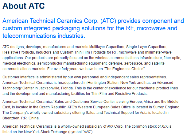 About ATC