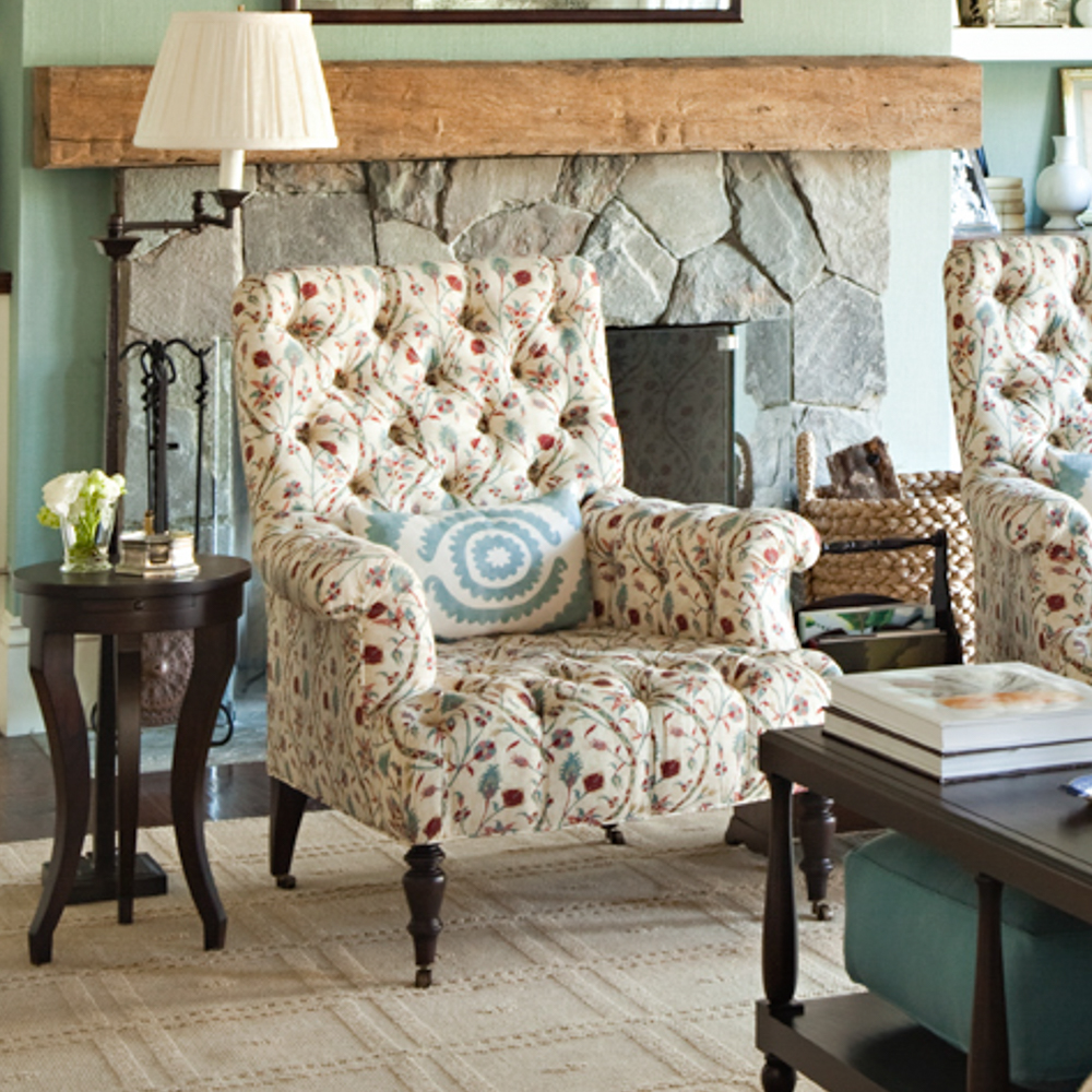 Madison English Tufted Chair