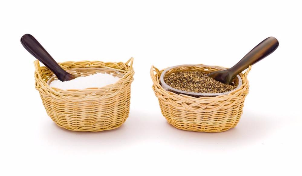 Salt and Pepper bowls  Amanda Lindroth