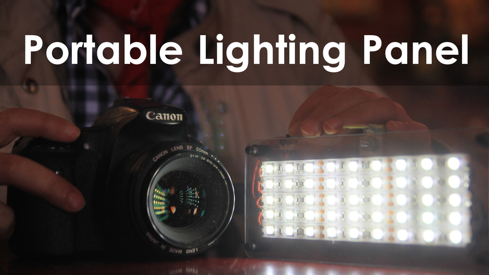 Super Bright Diy Portable Led Panel Darbin Orvar