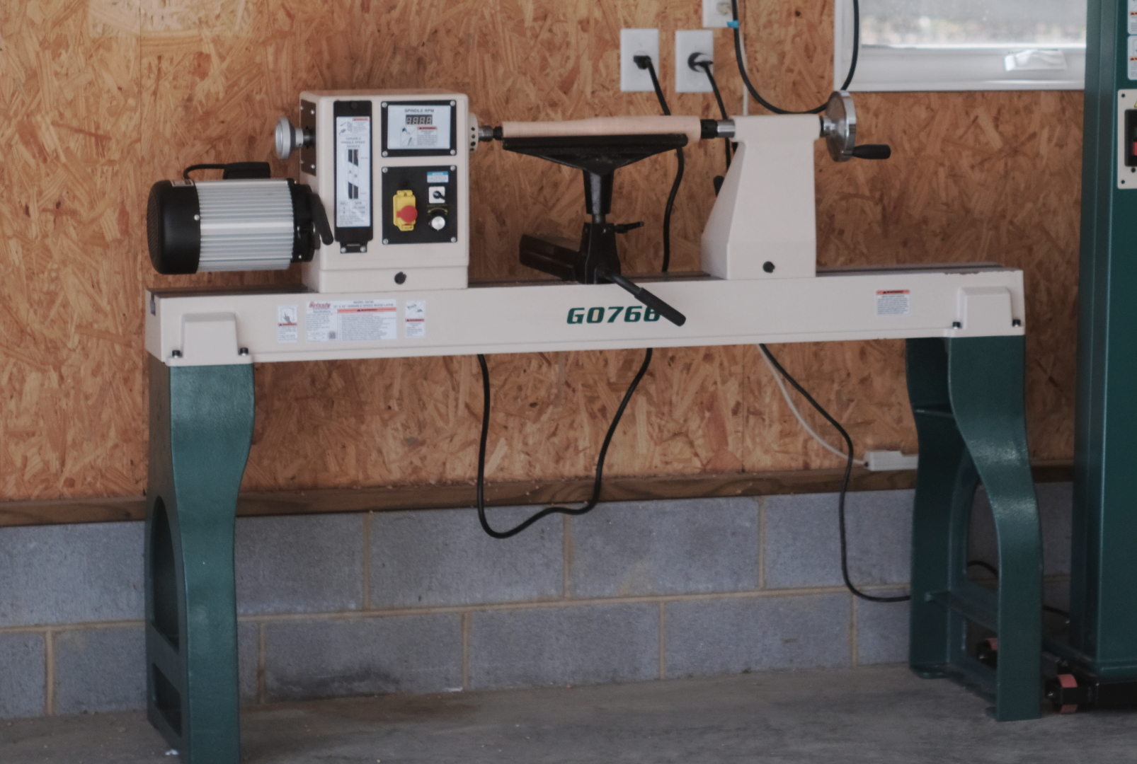 Grizzly G0766 Lathe Initial Review — Darbin Orvar