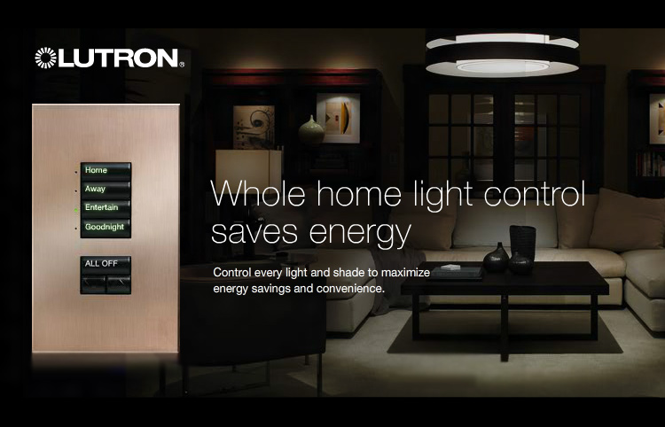 Current Innovations is a Certified Installer, Award Winner with Lutron Lighting Control