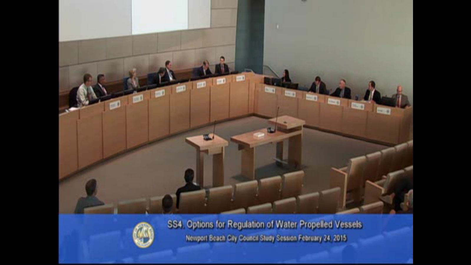 City Council Hydroflight Regulation