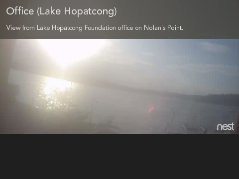 Lake Hopatcong Foundation Web Cam