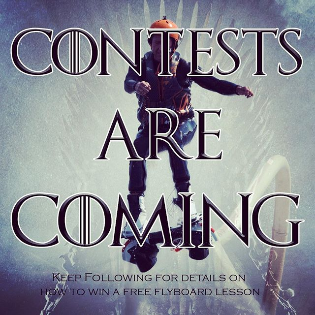 We will be starting this season off with a contest to win a free flyboard lesson.  Keep following for details to come. . . . #Flyboard #Hydroflight #contest #LakeHopatcong #GreenwoodLake #LakeWallenpaupack #Tices #Fcove #ByramCove #Roxbury #Randolph #Morristown #Hoboken #MDW #MDW2019 #GameOfThrones #GOT
