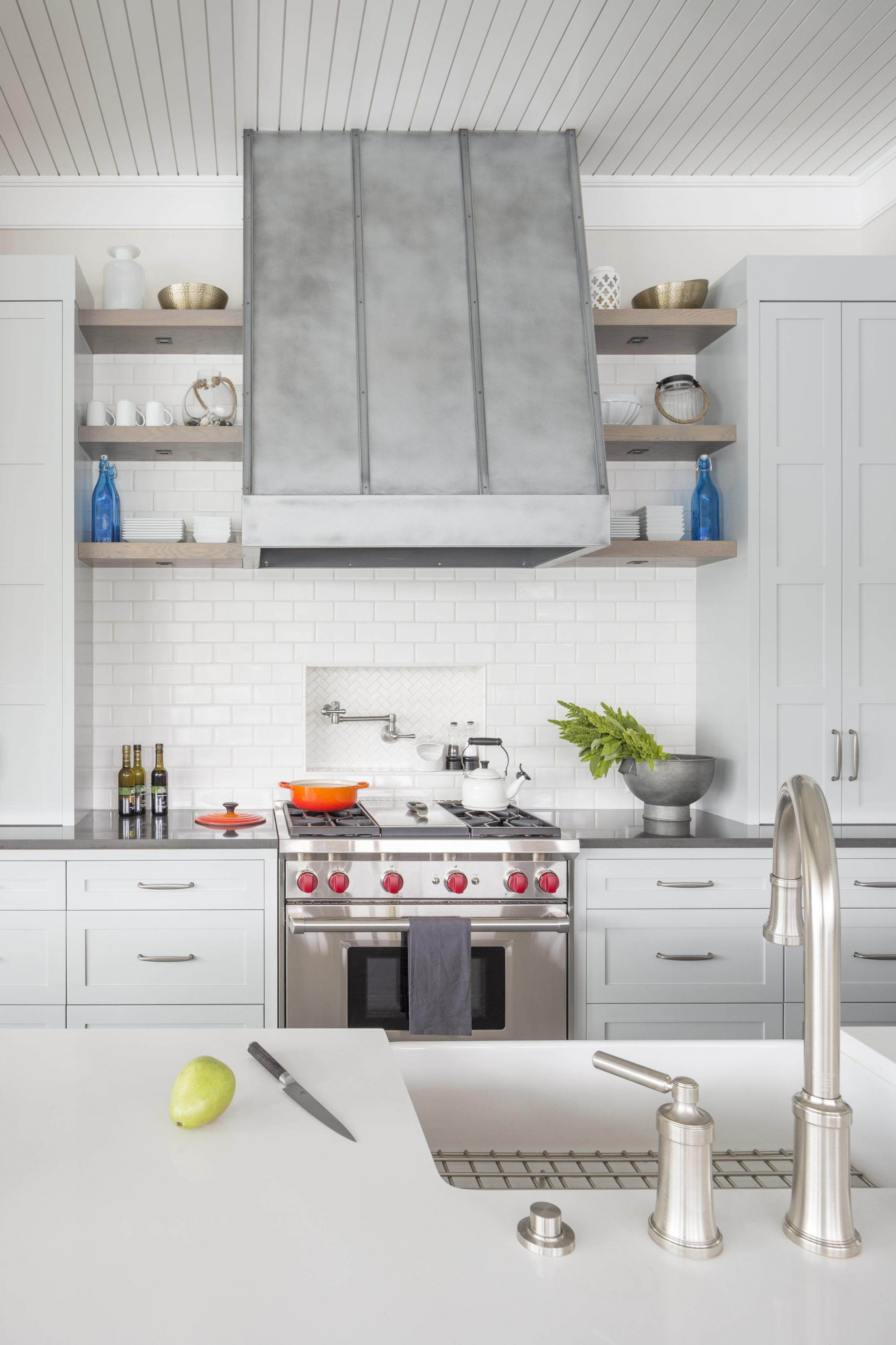 Hammerley kitchen detail . Baines