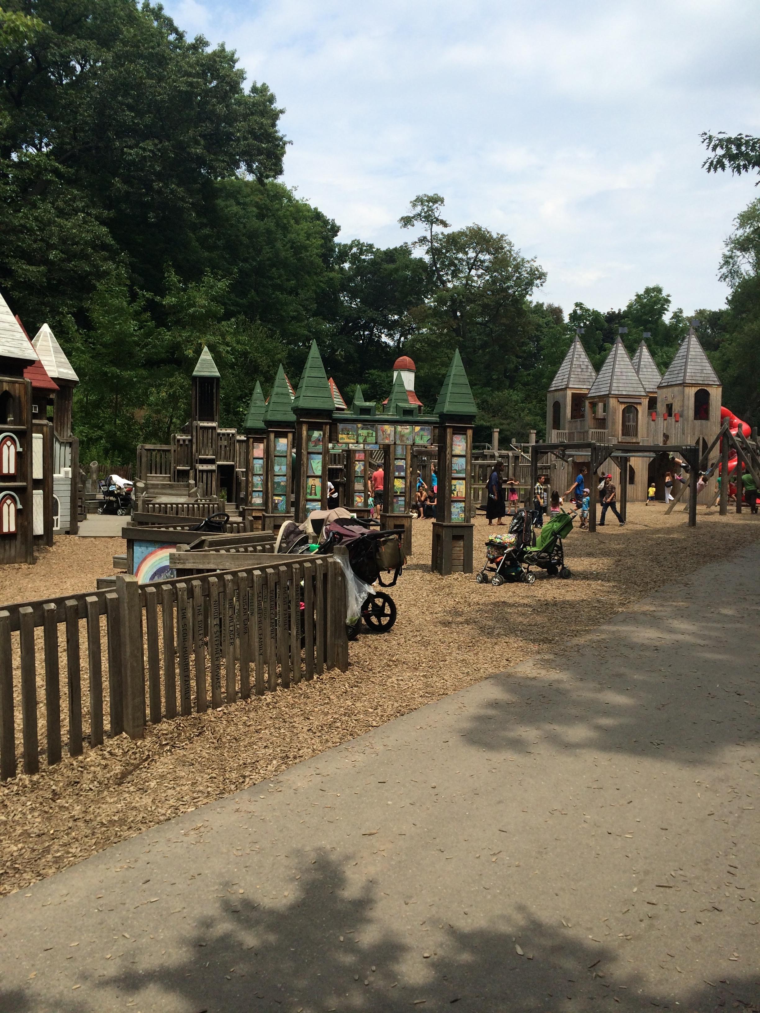 The Jamie Bell Adventure Playground in Toronto. So much fun!!!