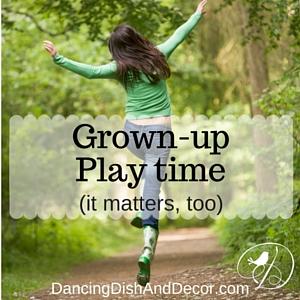 Dancing Dish and Decor Play Matters Blog Hop