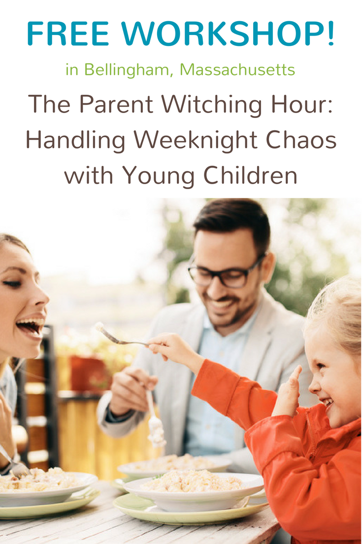 The Parent Witching Hour_ Handling Weeknight Chaos with Young Children Pinterest.png