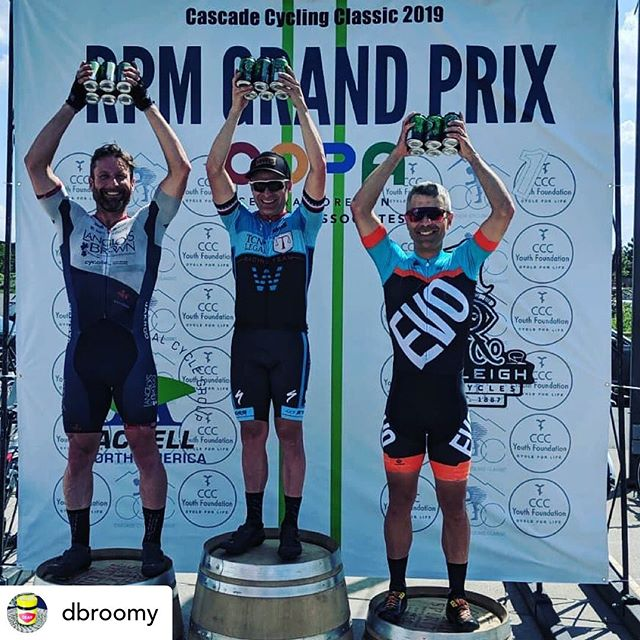 Posted @withrepost • @dbroomy Sweating blood for beers! Masters racing is the best:) @langloisbrownracing @ifeelborn_northamerica