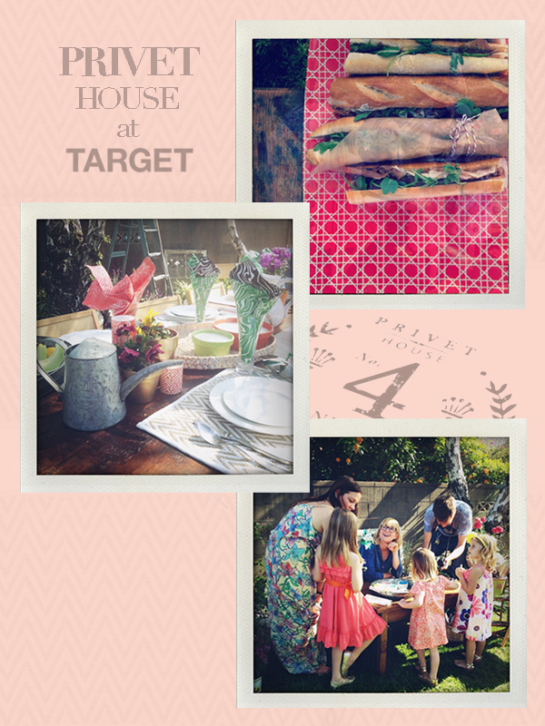 The City Sage: Target + Privet House Garden Party