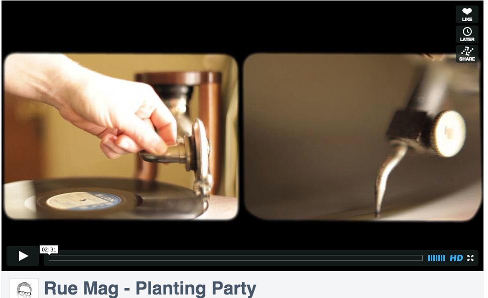 Shark Pig: Rue Magazine Planting Party Video