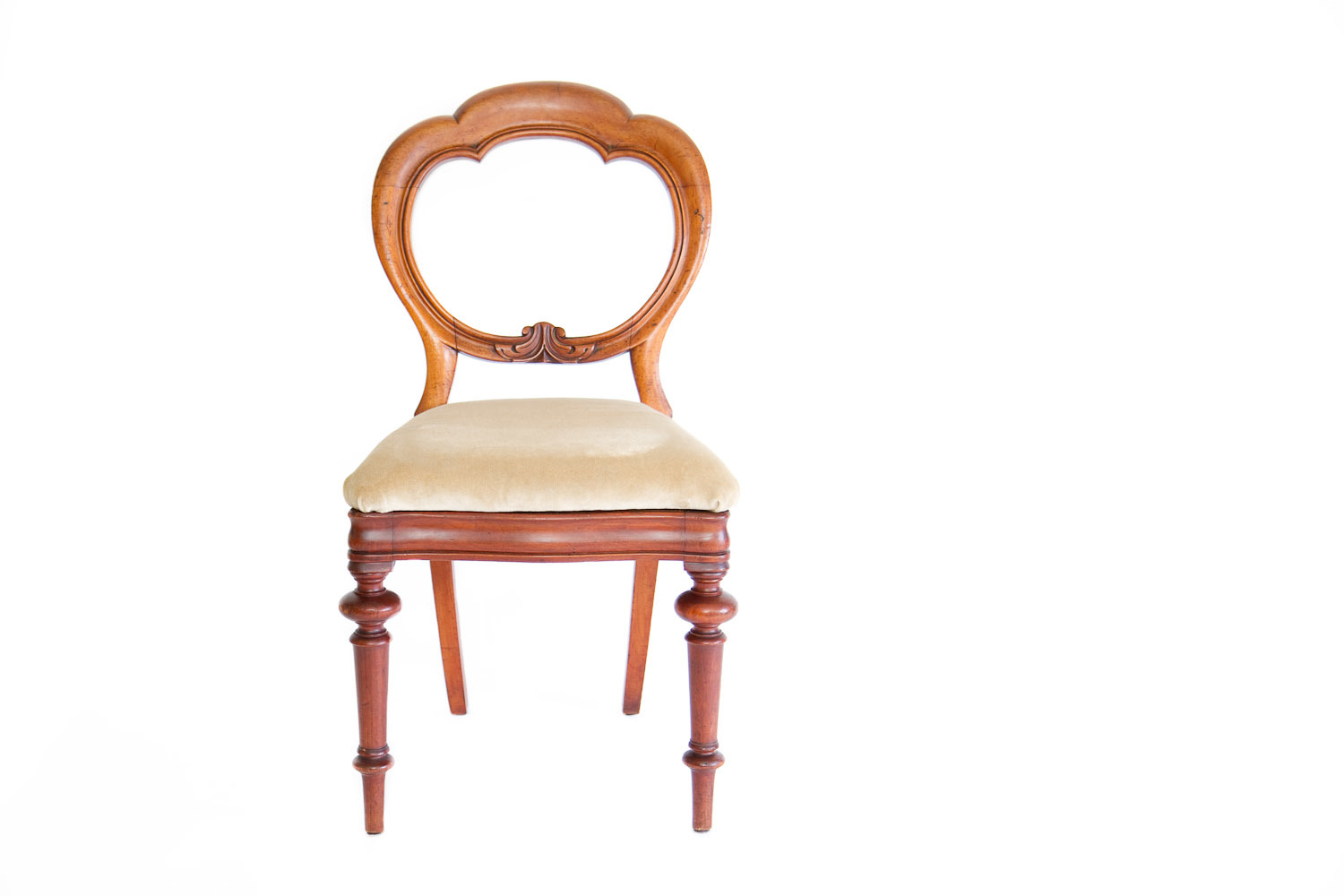 (S-018) BALLOON BACK CHAIRS