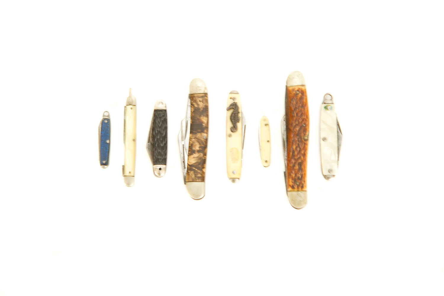 (PS-128) ANTIQUE POCKETKNIFE COLLECTION