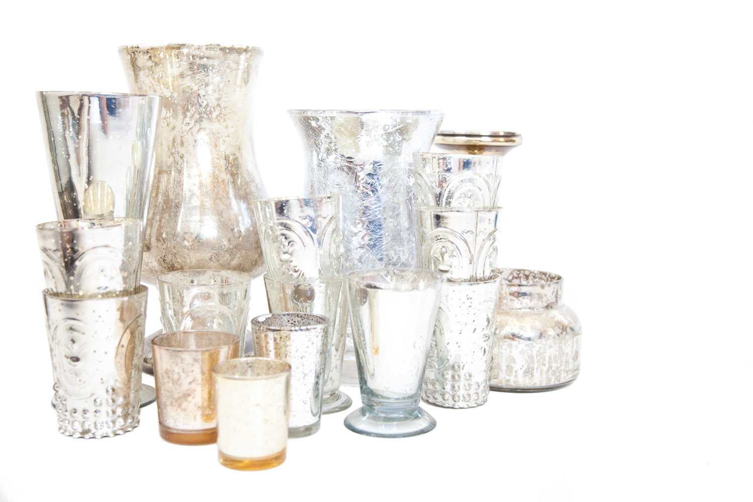 (V-039) MERCURY GLASS COLLECTION