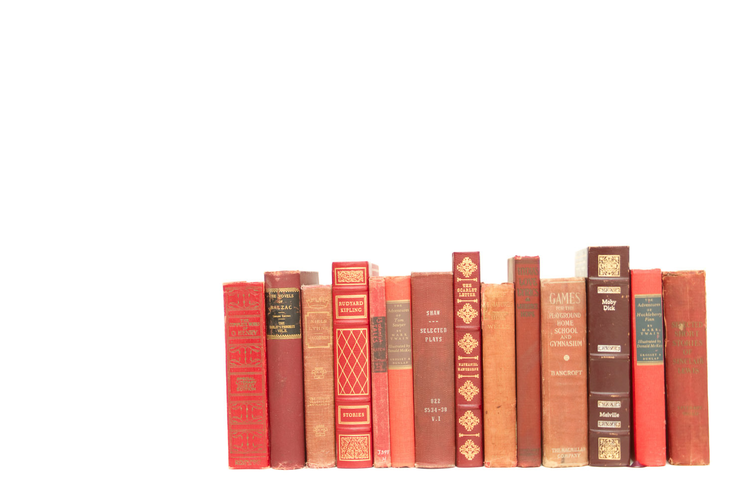 (B-035) RED BOOK COLLECTION