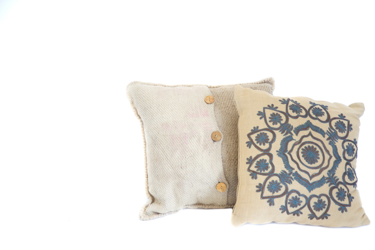 (L-023) EARTH-TONE PILLOW COLLECTION