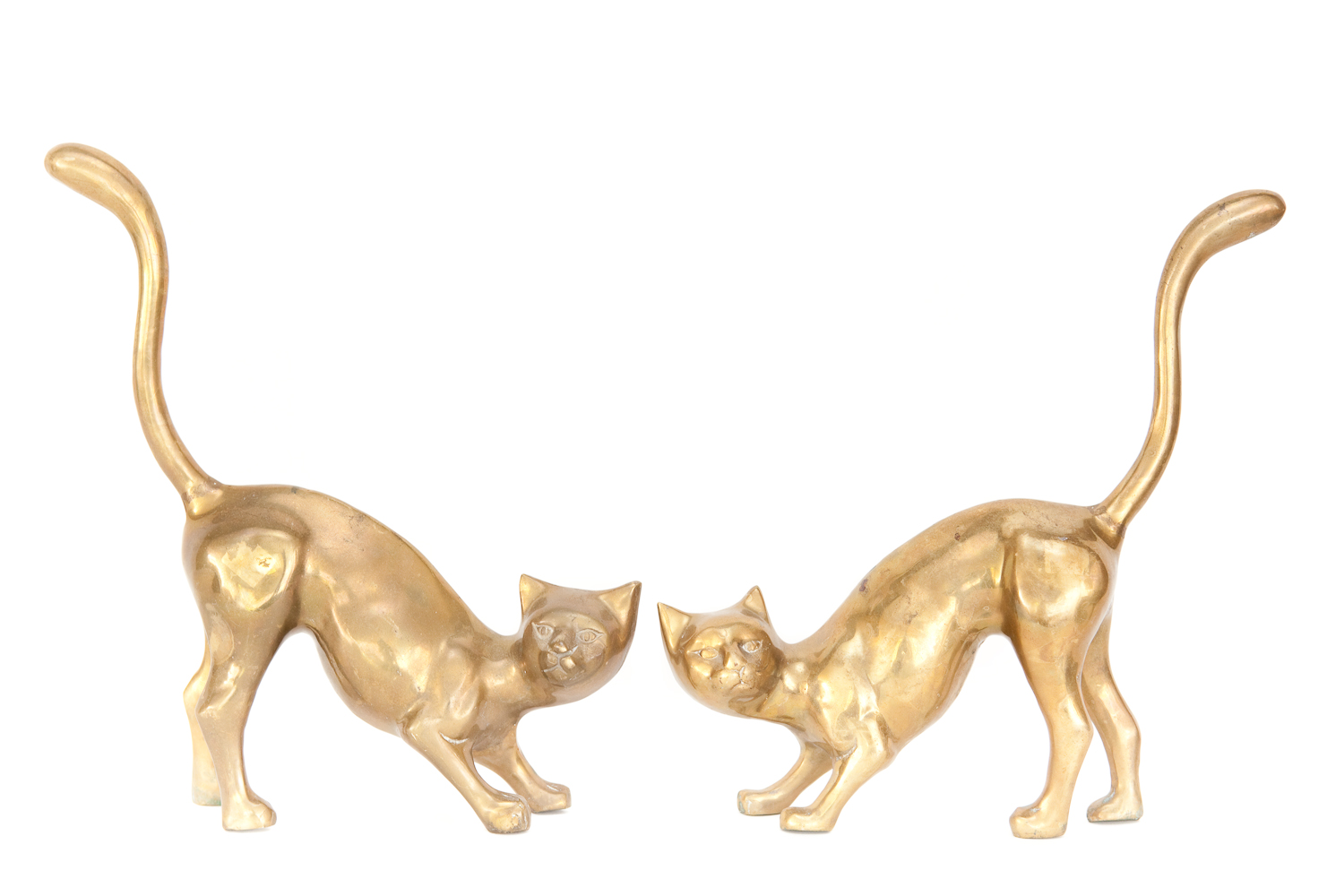 (PL-118) THOSE BRASS FELINES