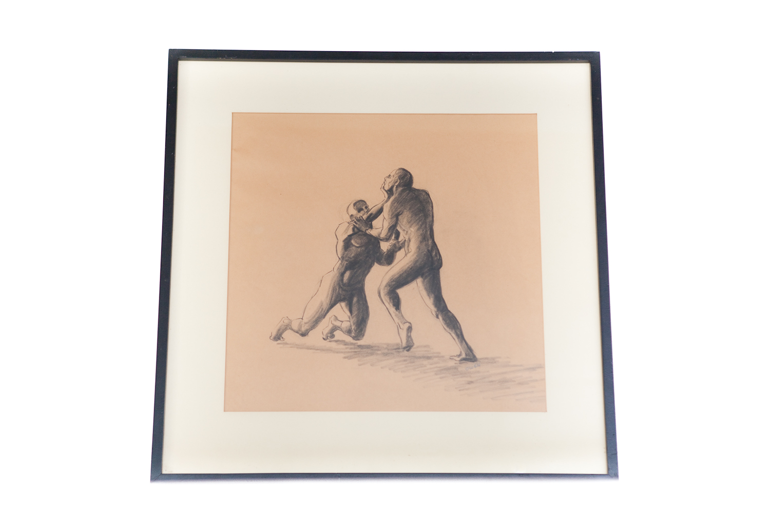 (F-060) THE WRESTLERS