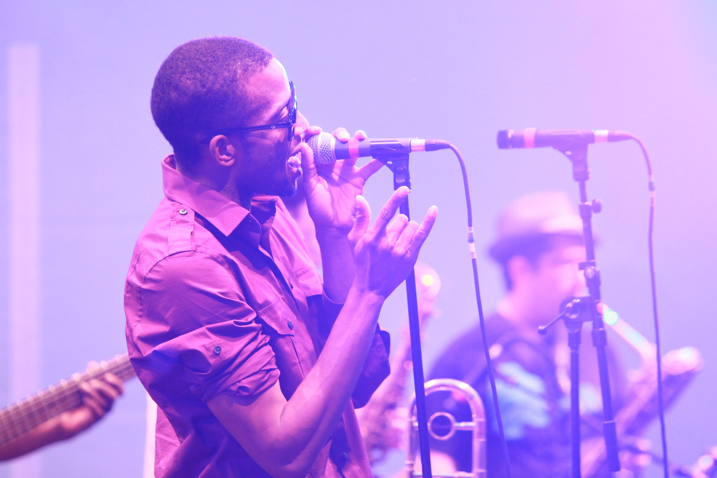 Trombone Shorty in seinem Element ( © public adress)